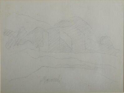Giorgio Morandi, 'Landscape', executed in 1961