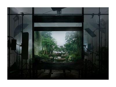 Hans Op de Beeck, 'Staged Exterior (forest)', 2014