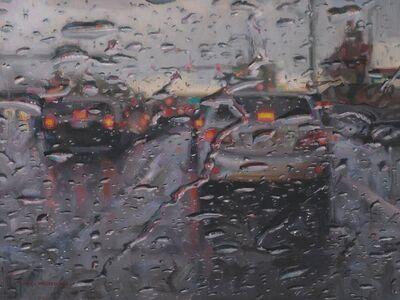 Dianne L. Massey Dunbar, 'Driving in the Rain II', 2017