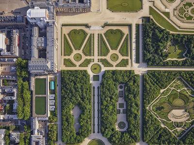 Jeffrey Milstein, 'Versailles Bassin de la Pyramide', 2019