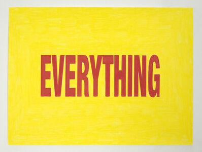 Joe Nanashe, 'Everything', 2010