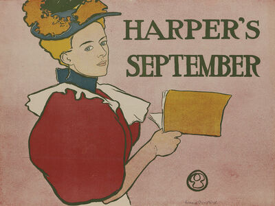 Edward Penfield, 'Harper's September', 1896