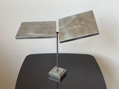 George Rickey, 'Two Planes Horizontal Biased', 1977