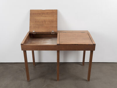 Robert Kinmont, 'school desk  ', 2014