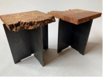 Stonis Collective, 'Scioto Table Side Tables ', 2019