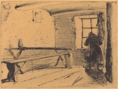 James Abbott McNeill Whistler, 'The Miser', ca. 1861