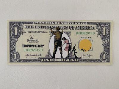 "Banksy, ' BANKSY DISMALAND US DOLLAR ""STOP & SEARCH"", DISMAL DOLLAR', 2015"