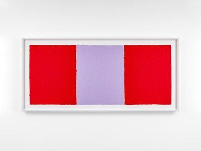 Ethan Cook, 'Red, Lavender, Red', 2020