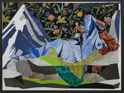 """Dinorá Justice, 'Collage 18-02 - after Ingres' """"La Grande Odalisque""""', 2018"""