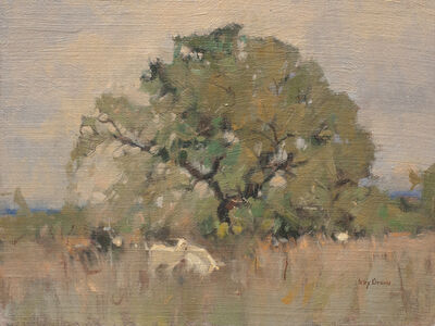 Irby Graves Brown, 'Last Summer Grazing'