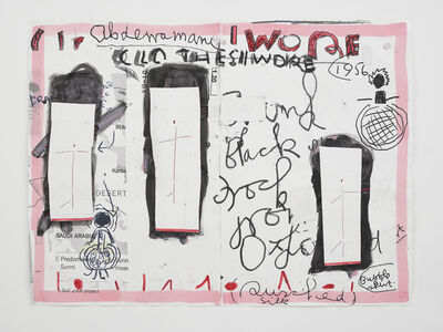 Rose Wylie, 'Clothes I Wore #19', 2019