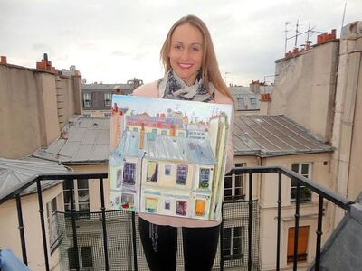 Alisa Orlova, 'Paris'