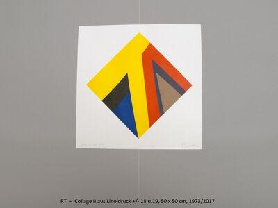 Rainer Tappeser, 'Collage II', 2017