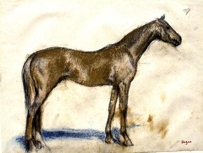 Edgar Degas, 'Racehorse', 1881-1885