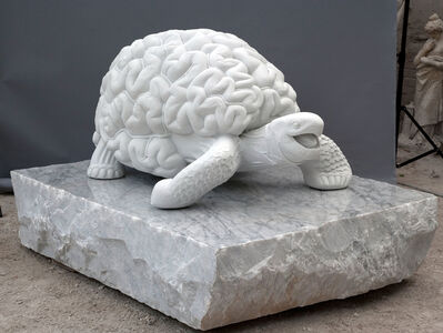 Jan Fabre, 'The Naked Metamorphosis (Achilles and the Tortoise)', 2012