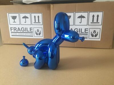 whatshisname, 'POPEK BALLOON DOG BLUE CHROME', 2020