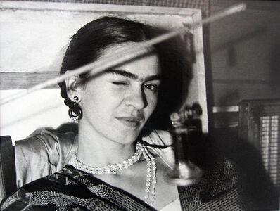 Lucienne Bloch, 'Frida Winking', 1933