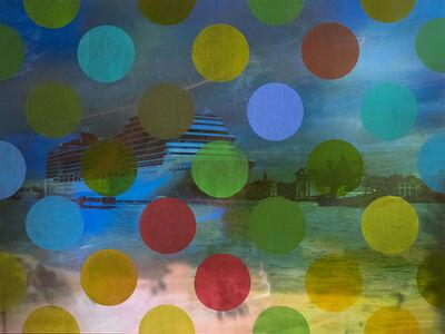 Sarah Nind, 'Pistes et Points - Venezia! 2', 2015