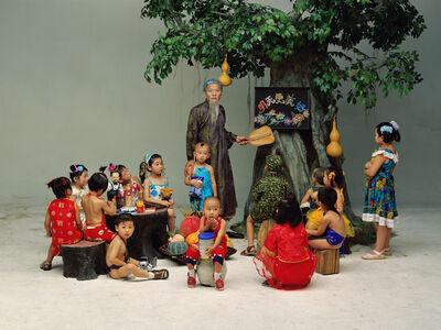 Wang Qingsong, 'Preschool', 2002
