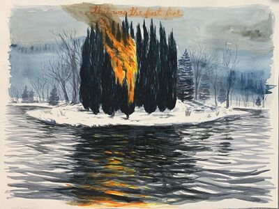 Jorge Rios, 'This Was The First Fire II', 2020