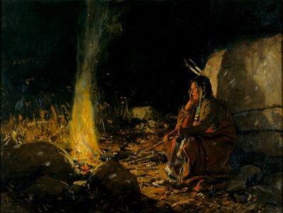 William Gilbert Gaul, 'The Fire is a Friend', circa 1910