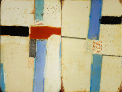 Father Bill Moore, 'Traverse (diptych)'