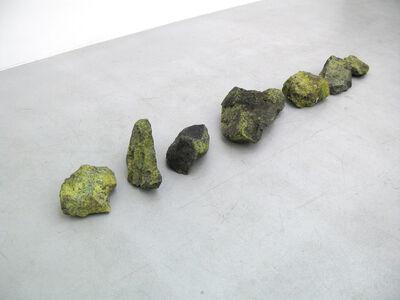 Helen Mirra, 'Untitled, group of seven rocks', 2007