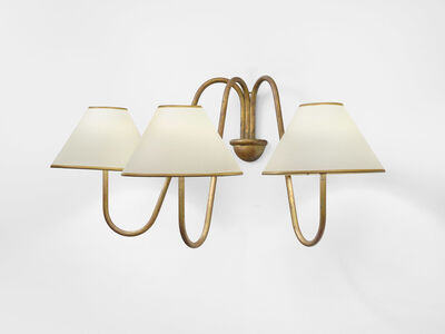 Jean Royère, '3-branched Bouquet wall light', ca. 1950
