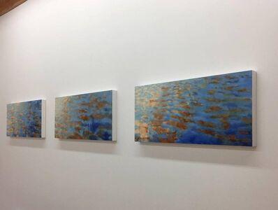 Betty Jo Costanzo, 'Basterdorff Gold Triptych', 2016