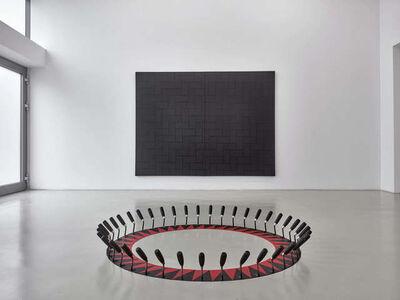 Patrick Hamilton, 'Red and black sun,', 2017