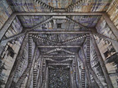 Edward Burtynsky, 'Stepwell #4, Sagar Kund Baori, Bundi, Rajasthan, India', 2010