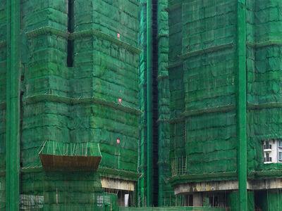 Peter Steinhauer, 'Green Cocoon #15, Hong Kong - 2011', 2011