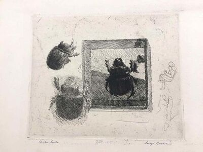 Luigi Bartolini, 'Scarabeo Ercole', 1934