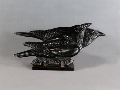 Tony Angell, 'Ravens From The Ledge, Ed 1/6', 2008