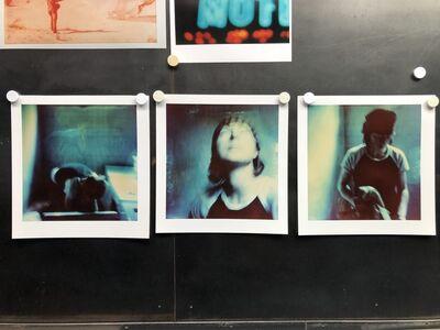 Stefanie Schneider, ''Max Blue', triptych (The Last Picture Show)', 2005