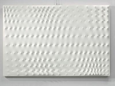 Enrico Castellani, 'Superficie Bianca', 1979