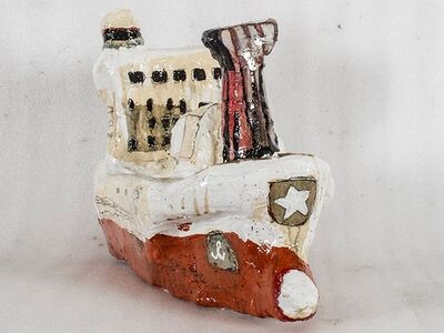 Rob Tucker, 'Study Of A Ship Like Form No. 5 (Red)', 2015