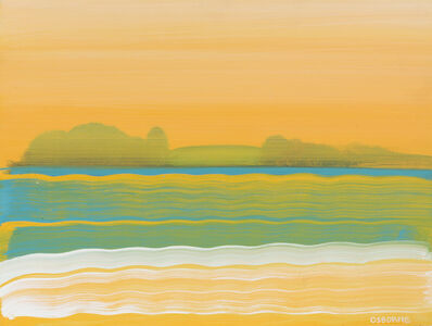 Elizabeth Osborne, 'Abstract landscape'