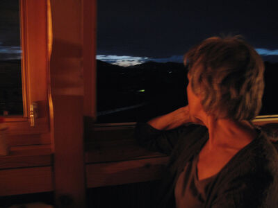Hans Weiss, 'ANNEKATHRIN S. on the evening when she had given up hope that her secret love to a good friend will ever be requited. Bregenzerwald, Austria (July 23, 2009)'