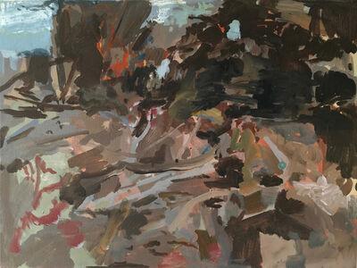 Rebecca Allan, 'Burning Pile, Pruning Debris, Kaleva Michigan', 2018