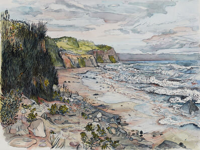 Nancy Friese, 'Montauk Cliffs, Rocks, Sands and Waves', 2017