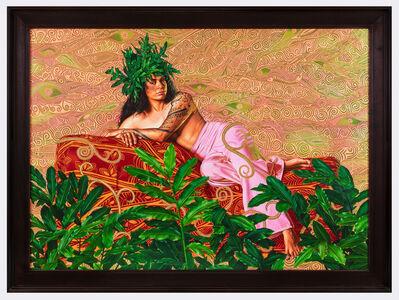 Kehinde Wiley, 'Portrait of Tuatini Manate III', 2019