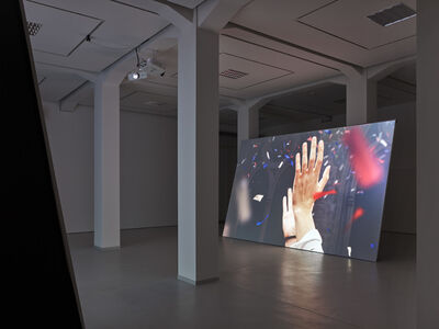 "David Claerbout, 'the ""confetti"" piece', 2015-2018"