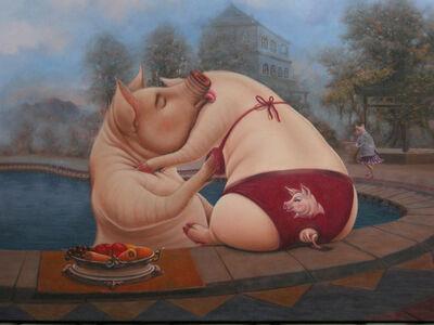 Irwan Sukendra, 'Noon At The Edge Of The Heaven ', 2006