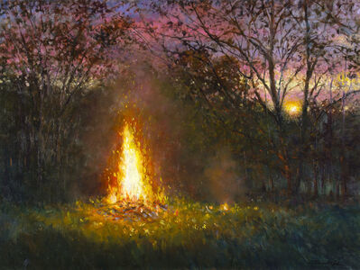Thomas McNickle, 'FIRE AT SUNSET', 2011