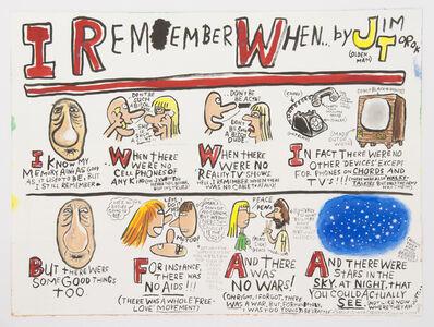 Jim Torok, 'I Remember When', 2012
