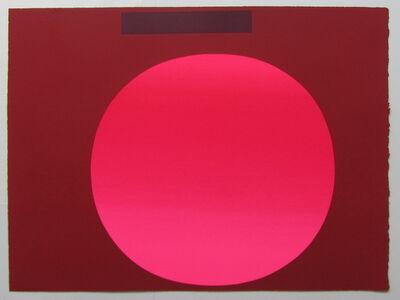 Rupprecht Geiger, 'metapher zahl (3)', 1986