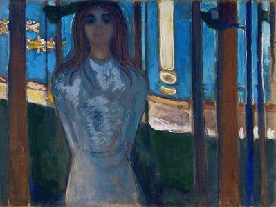 Edvard Munch, 'The Voice [Die Stemme]', 1893