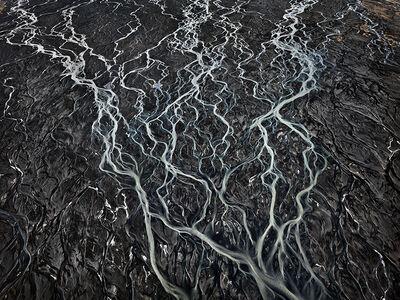 Edward Burtynsky, 'Markarfljót River #2, Southern Region, Iceland', 2012