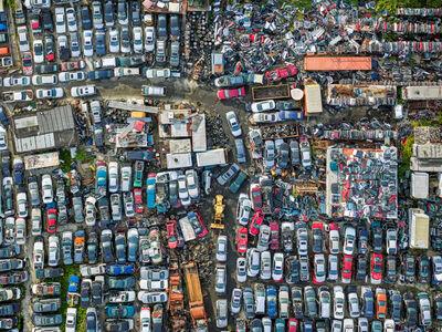 Jeffrey Milstein, 'Bayview Auto Wreckers, Staten Island 2', 2017